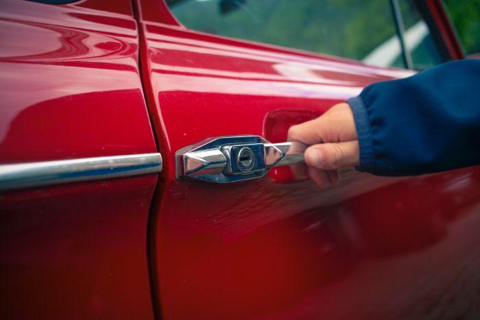 отваряне на автомобила