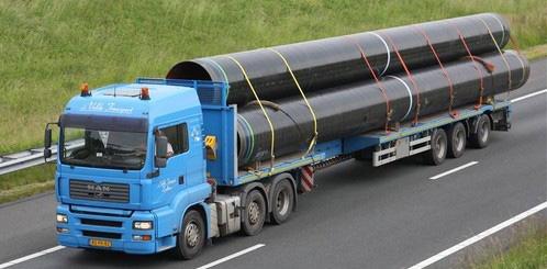 доставка на големи тръби
