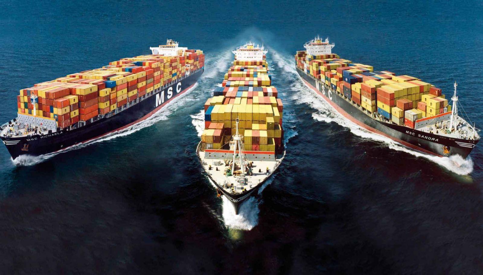 морски товари