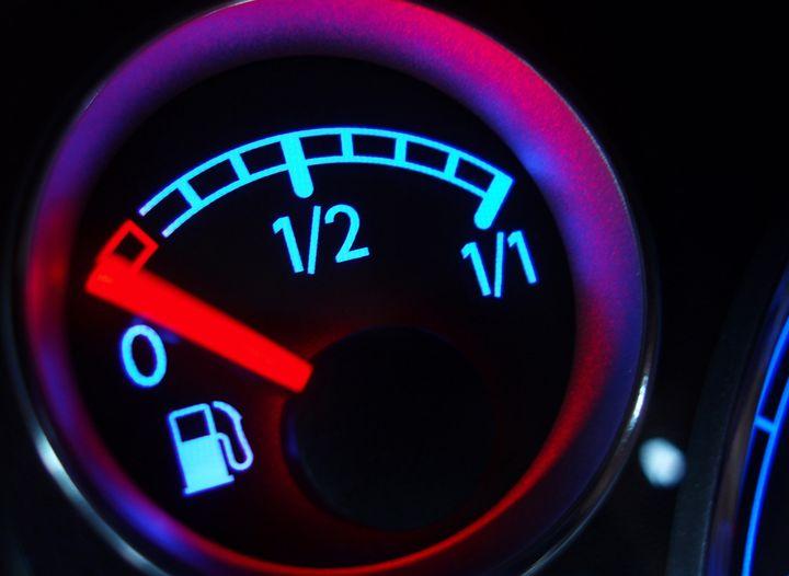 автомобилът е без гориво