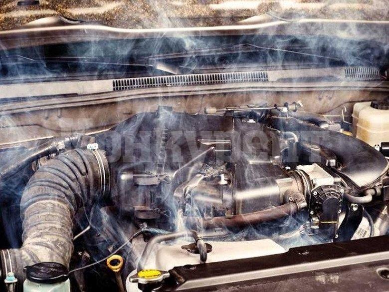 изключване на двигателя