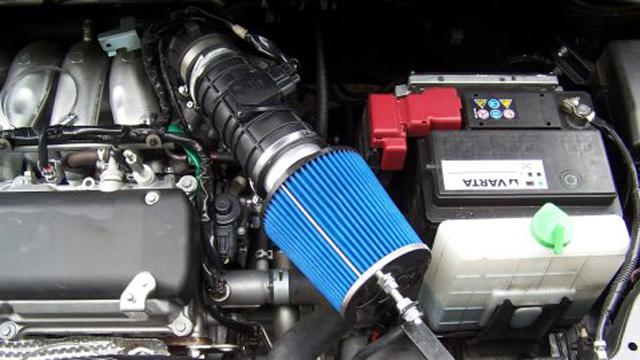 мощност на двигателя