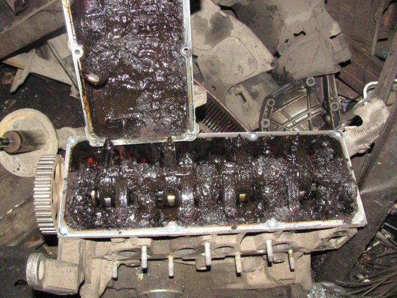 износване на двигателя