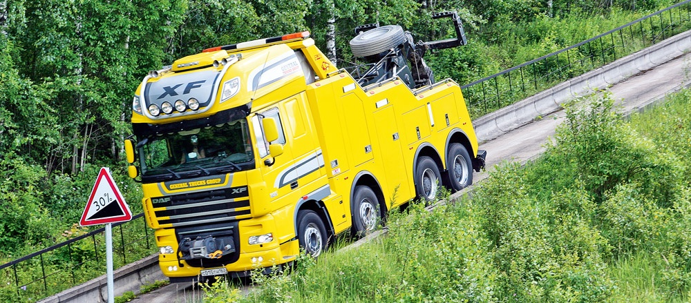 транспортна ефективност на DAF