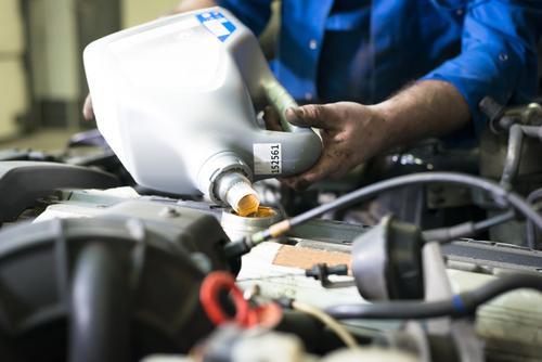 смяна на двигателно масло